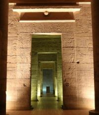 Inside Philae Temple
