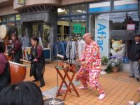 Another taiko drummer at Tokorozawa