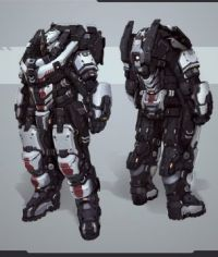Plazma Heavy Power Armor Soldier (Large)