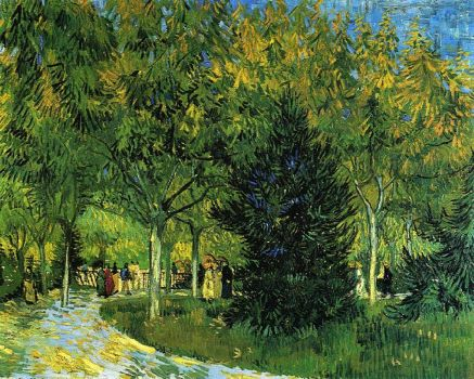 Avenue in the Park - 1888, Arles, Bouches-du-Rhône, France