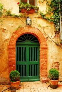 Green Doors ~ Tuscany
