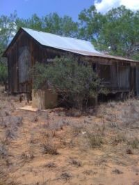 Old House in Frio County Texas