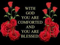 Comforted with God