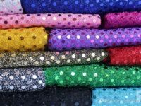 Colored Sequin Fabric