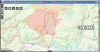 Red Lake Sparks Fire Map