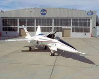 NASA's F/A-18 Active Aeroelastic Wing (AAW)