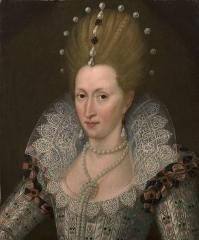 ca. 1605 Anne of Denmark by John de Critz