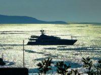 Boat off Hvar