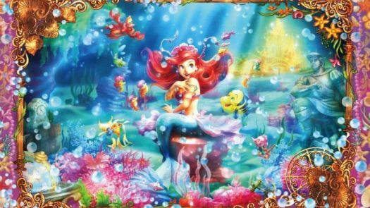 Solve Little Mermaid jigsaw puzzle online with 120 pieces