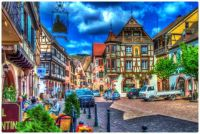 Town Centre, Kaysersberg, France