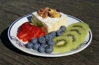 Brie with Fresh Fruit