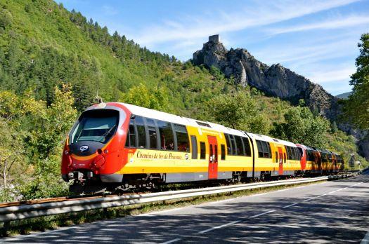Train Nice-Digne for Marlene