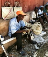 haiti basket weaving
