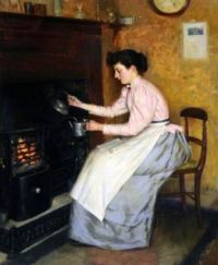 Ernest Higgins Rigg--Quiet Hour, 1895