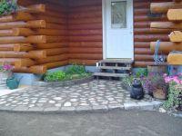 Alaska Cabin Entryway