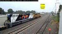 """UP-1979 """"the ONE"""", with UP-8509 leading at Kearney,NE/USA"""