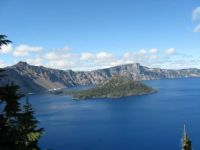 Beautiful Crater Lake, Or