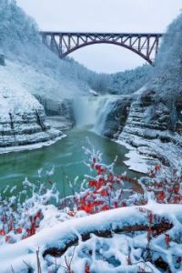 Letchworth State Park's upper falls