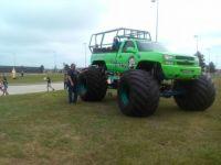 Tantrum Monster Truck Fun in Spring, Tx.