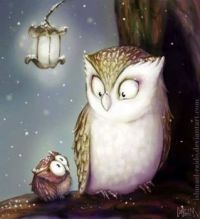 """Mommy, is it true we are night owls?"""