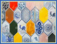Colorful Hexagon Ceramic Tiles