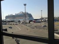 MS Royal Princess docked in Helsinki, Finland