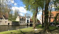 A view of Bruges canal. Taken May 2016