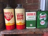 Motor oils of yesteryear.