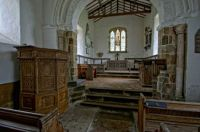 Interior of the Church of St Michael, Burwell - 28th Apr 2013