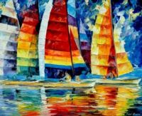A Tribute to Leonid Afremov - Piece I