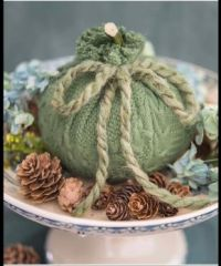Wonderful green pumpkin