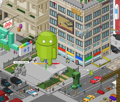 Android city