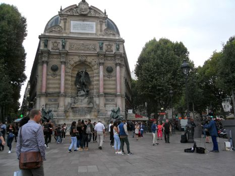 Saint-Michel in Paris