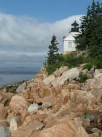 Theme: Acadia National Park Bass Harbor Head Lighthouse