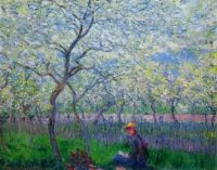 Claude Monet - An Orchard in Spring, 1886 (Mar17P85)