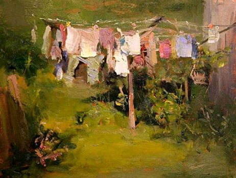 Laundry Day - Art by Antti Rautioli  'Super Clean'