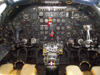 Vulcan cockpit,  Wellesbourne, Warwickshire.