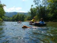 Theme: Summer - Tubing in Vermont