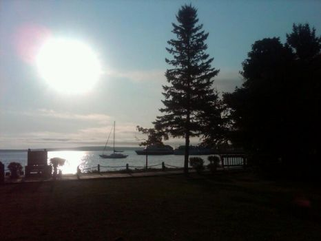 morning in St. Ignace, 2012