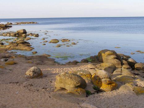 Pobřeží Bornholmu
