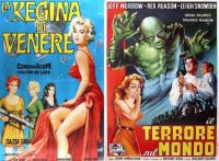 Queen of Outer Space ~ 1958 and The Creature Walks Among Us ~ 1956