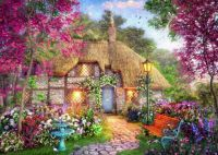 Country cottage & garden