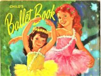Themes Vintage illustrations/pictures - Child´s Ballet Book