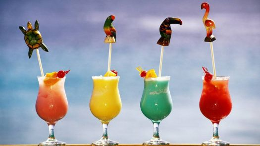 More Tropical Cocktails