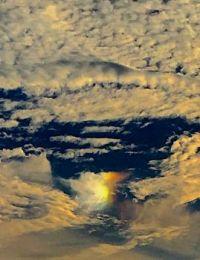 8-3-2017 #1 sunset angel in the AZ sky