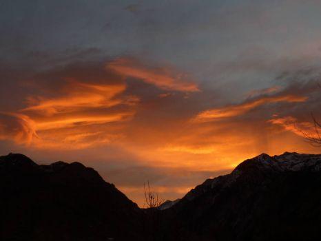 December 2014, 8 AM sunrise