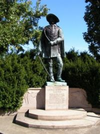 General George Armstrong Custer Bronze Statue, New Rumley, OH
