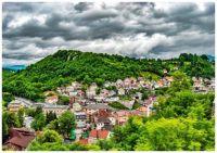Storm Clouds over Beautiful Travnik Town - Bosnia & Herzegovina