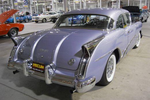 1954 Buick Skylark 2-door hardtop rear