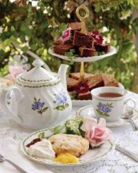 Delicious Tea And Cakes